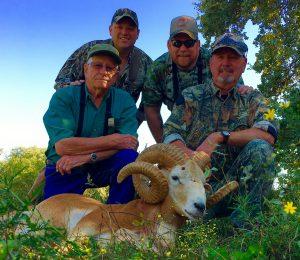 Larry Rider, Robert Williams, Kyle Shaffer Kenneth Buchanan – Arkansas Warrior Corsican Ram
