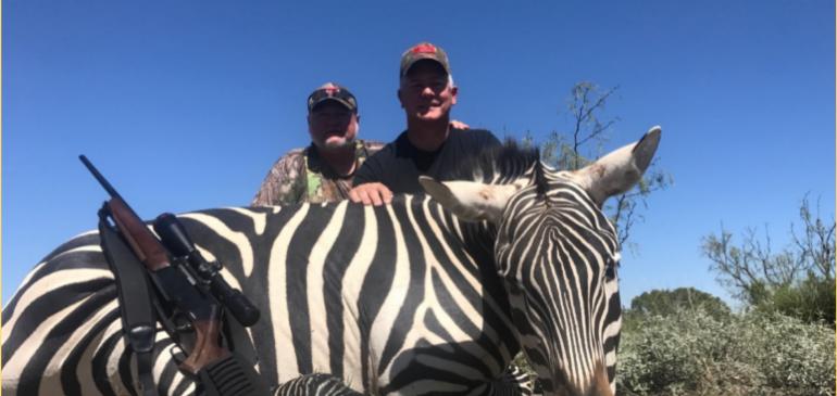 Warrior Hunt – Zebra Hunt, October 2017, Bakersfield, TX