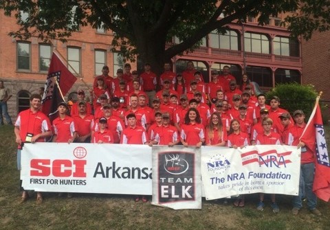 The Arkansas Team At The 2016 YHEC National Competition in Pennsylvania